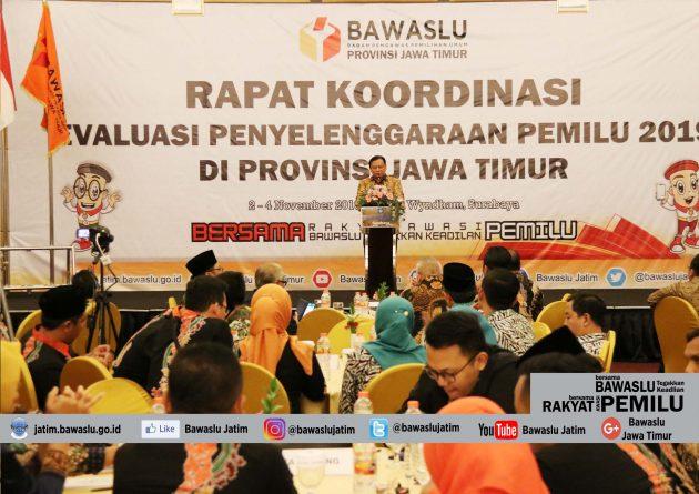 Evaluasi Bawaslu dan KPU se-Jawa Timur, Abhan: Pertama Kali di Tingkat Provinsi se-Indonesia