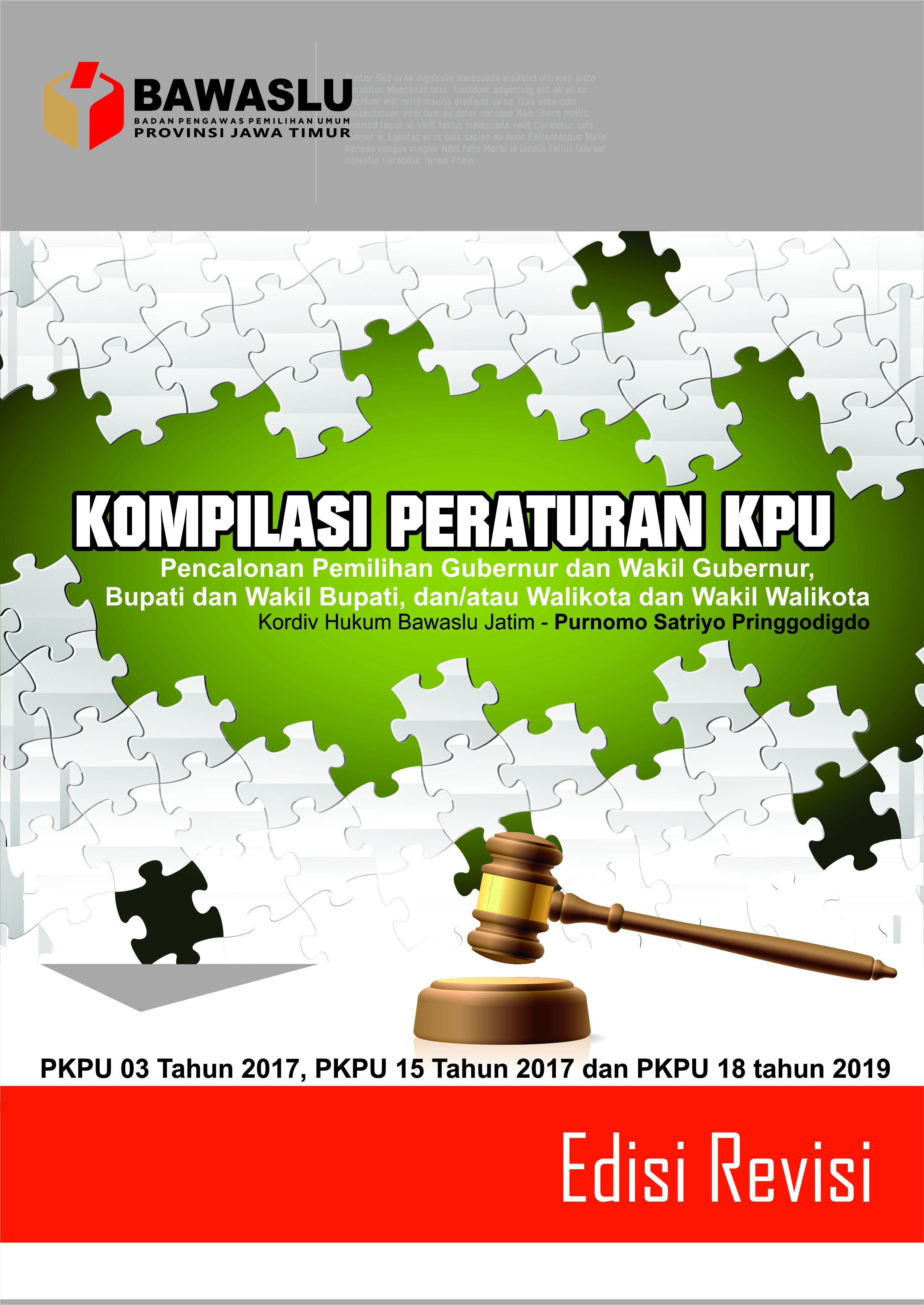 Kompilasi 3 PKPU Pencalonan Pilkada 2020
